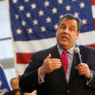 NJ Governor Chris Christie Holds Town Hall Meeting
