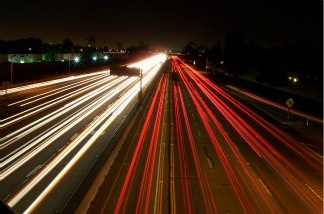 The dreaded 405 freeway in Los Angeles, California.