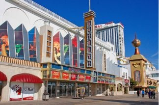 Resorts Casino, pictured in January, is a struggling casino in Atlantic City. As new casinos open in neighboring states, the competition for gamblers is heating up.