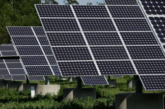 Solar panels recently installed at Camp Lejeune are expected to provide nearly 75 percent of the hot water for the homes.