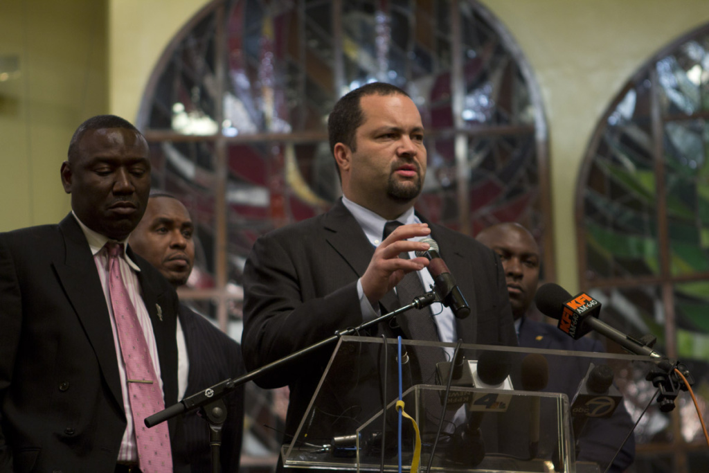 Benjamin Jealous, former president of the NAACP. His new position is with the Oakland area firm Kapor Capitol.