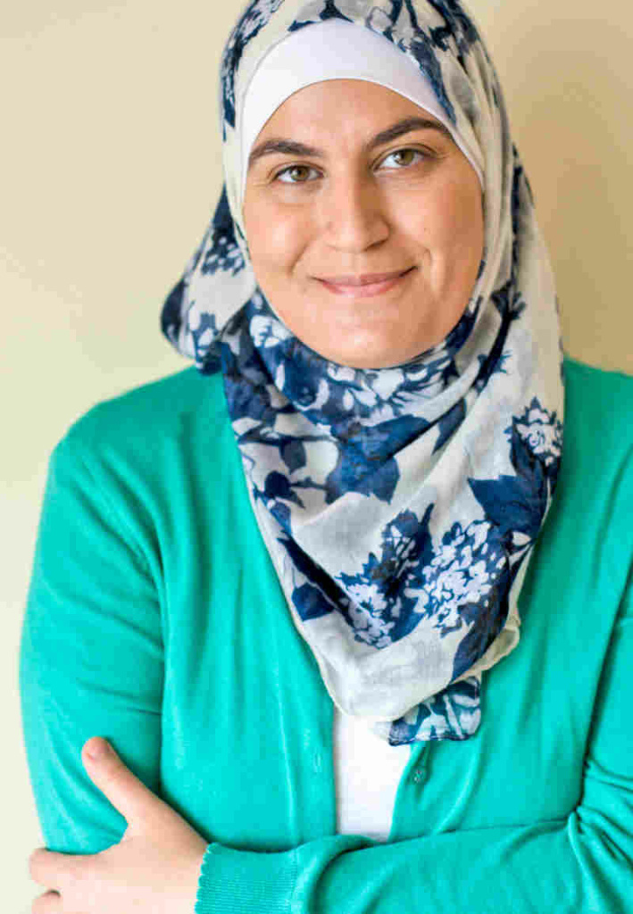 Sawsan Abu Farha, a Palentinian-Jordanian food blogger known as
