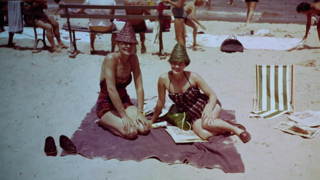 Terry Donahue and Pat Henschel in