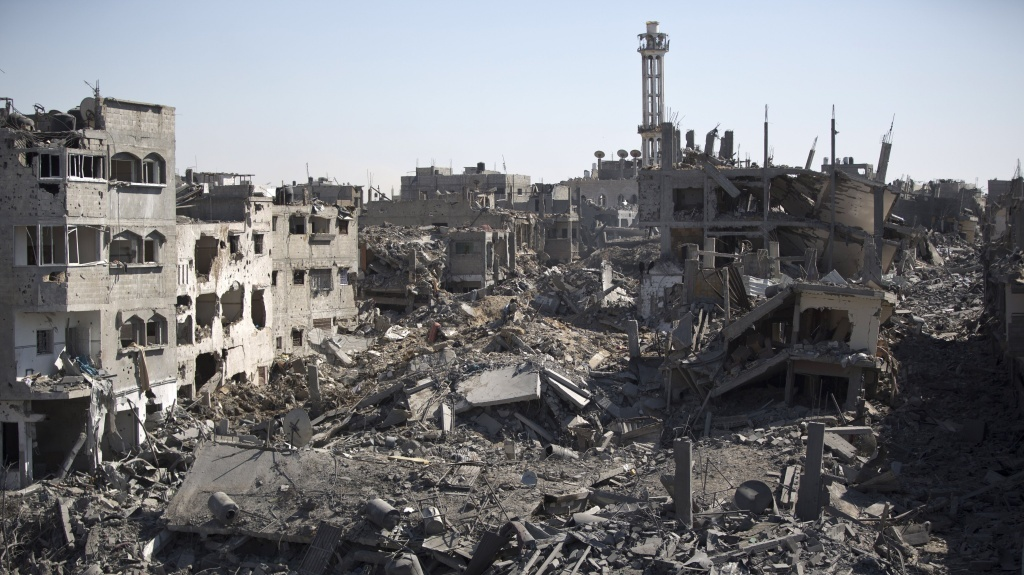 During Saturday's humanitarian cease-fire, families returned to the Shejaiya district of Gaza City Saturday to find their homes ground into rubble by Israeli tank fire and air strikes. An attempt to extend the cease-fire by an additional 24 hours ended early Sunday, but Hamas said it would accept a new cease-fire, partly to acknowledge the holiday of Eid.