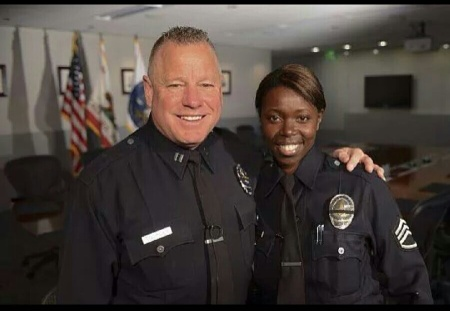 Captain Phil Tingirides of the Los Angeles Police Department's Southeast Division, and his wife, Sergeant Emada Tingirides with Operations-South Bureau, received an invitation from  First Lady Michelle Obama requesting their presence at President Barack Obama's State of the Union Address at the U.S. Capitol.