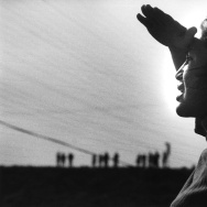 Dolores Huerta at the Delano Strike in 1966.