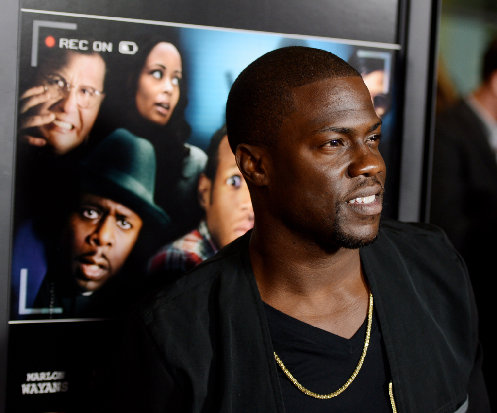 Comedian Kevin Hart arrives at the premiere of Open Road Films'