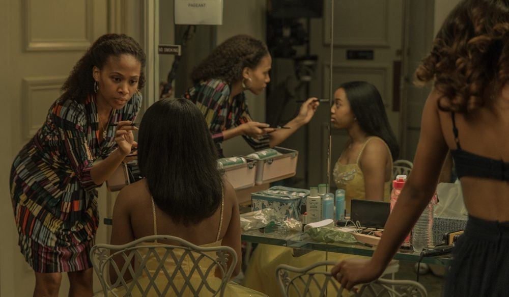 Nicole Beharie (L) and Alexis Chikaeza (R) in