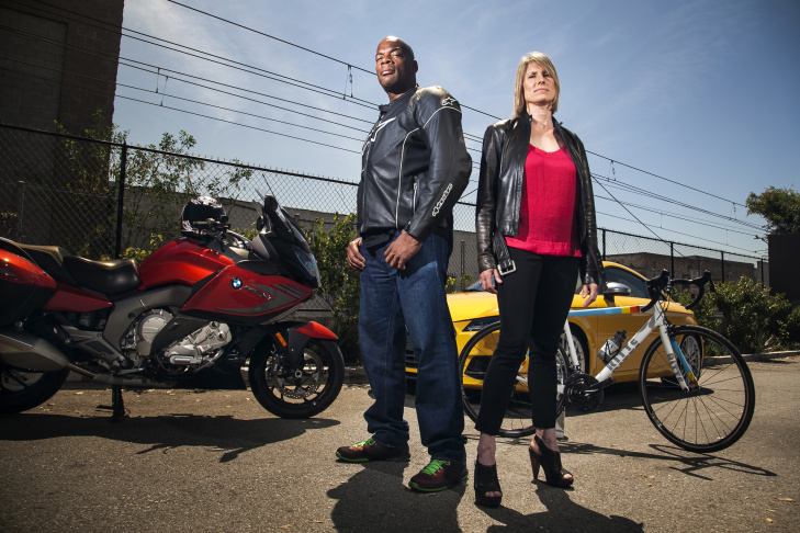 Comic Alonzo Bodden and motor journalist Susan Carpenter take you on The Ride