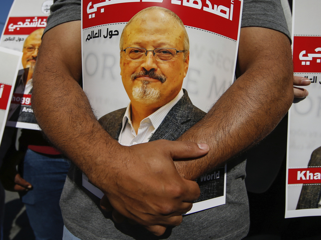 Lawmakers and journalists are among those calling for penalties against Saudi Crown Prince Mohammed bin Salman for the 2018 killing of <em>Washington Post</em> columnist Jamal Khashoggi after a U.S. intelligence report finding the crown prince had approved the operation.