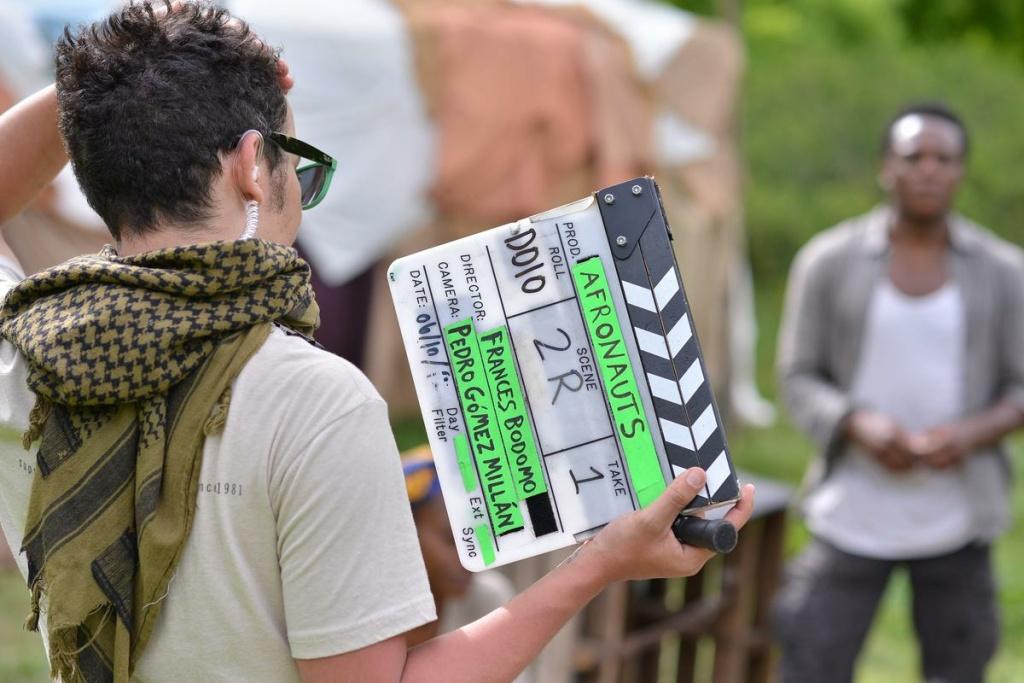 Filmmaker Frances Bodomo's