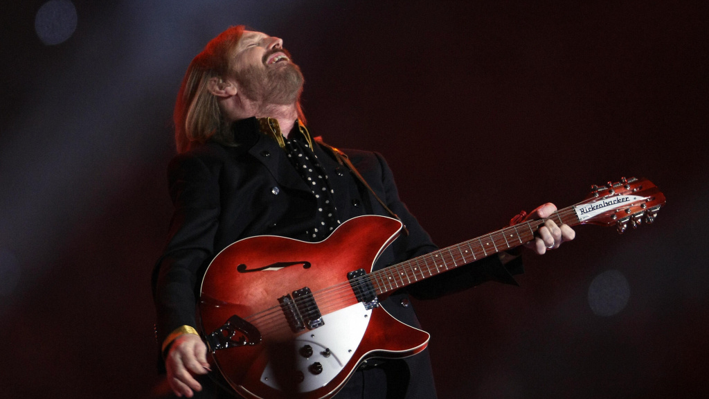 Tom Petty, performing during the Super Bowl XLII halftime show on Feb. 3, 2008.