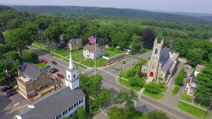 The bucolic town of Newtown, Connecticut was the scene of a horrific shooting in 2012 at an elementary school.