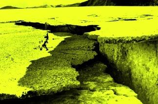 Southern California earthquake damage, 1971.