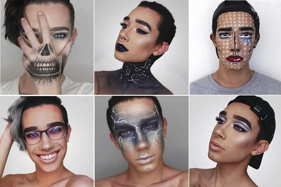 Faces of James Charles