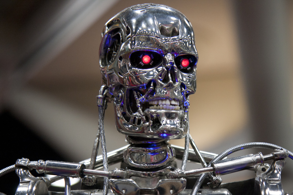 How does Gov. Newsom's budget prepare us for the future--like robots?