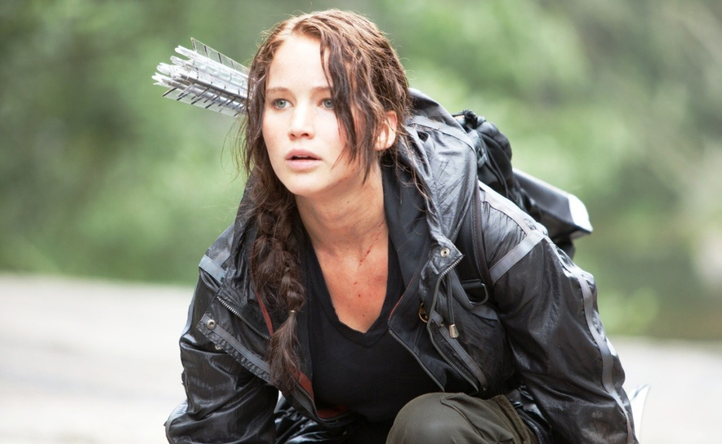 Jennifer Lawrence stars as 'Katniss Everdeen' in