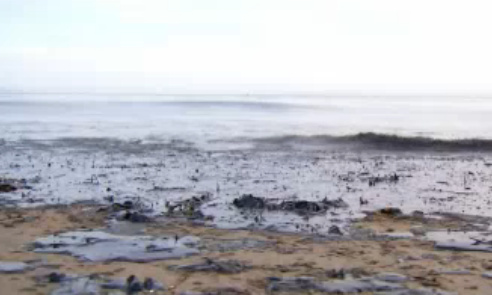 Refugio State Beach, shown in photo, will remain closed, but El Capitan State Beach will soon be open to visitors.