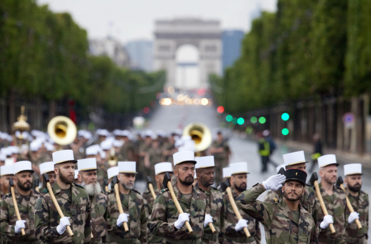 Pioneers from the French Foreign Legion