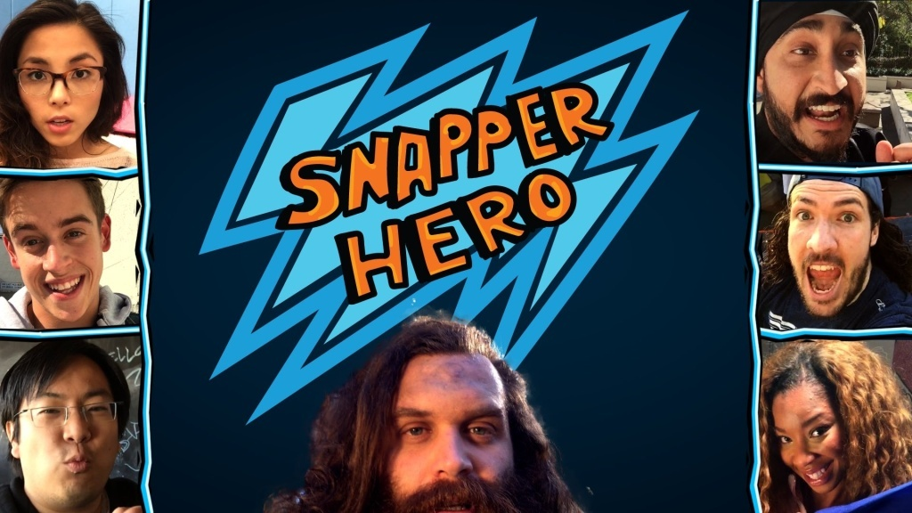 Anna Akana, Freddie Wong, Harley Mortenstein and more star in Snapper Hero, a Snapchat based show.