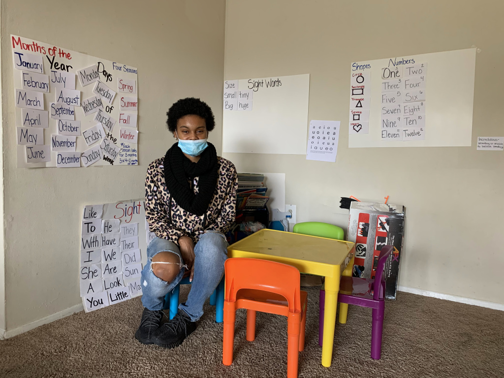 Aniya's overnight shift at an Amazon warehouse became impractical when daycare and school were canceled for her two children because of the pandemic. She was able to avoid eviction with the help of a lawyer and emergency rental assistance but she recently received a letter saying that her lease would not be renewed and she had to vacate the apartment.