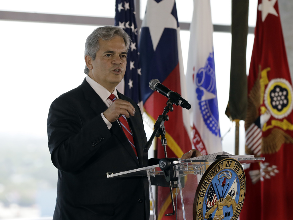 Austin Mayor Steve Adler, shown here at an event in 2018, says he