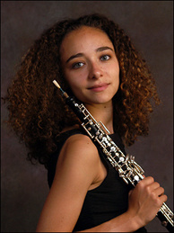 The Los Angeles Philharmonic has a new principal oboist, 26-year-old Ariana Ghez.