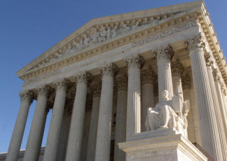 The United States Supreme Court Building in Washington, DC