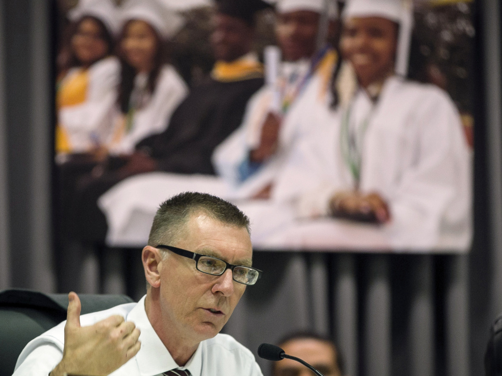 Former Los Angeles Unified School District Superintendent John Deasy drew in millions in foundation contributions to the district during his tenure. He will be working for one of the large nonprofits, The Broad Center.