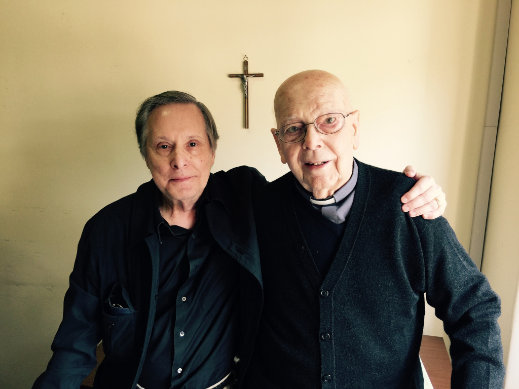 A new documentary by William Friedkin (left) centers around footage of an exorcism performed by Rev. Gabriele Amorth (right), who has performed the procedure tens of thousands of times.