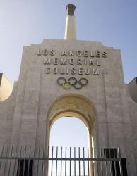 Los Angeles Memorial Coliseum.