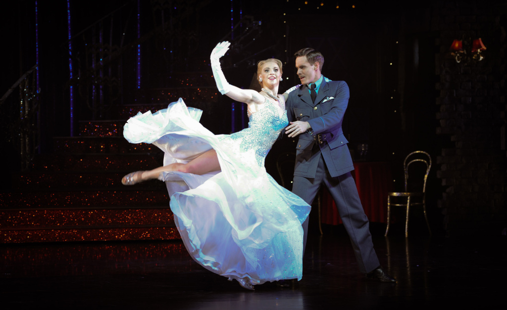 Kerry Biggin and Sam Archer perform on stage for Matthew Bourne's Cinderella at Saddler's Wells on December 7, 2010 in London, England.
