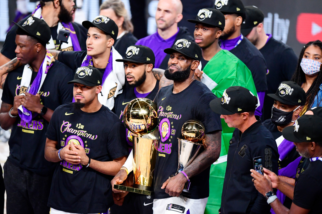 AirTalk | Audio: Purple And Gold Paydirt: Lakers Cap ...