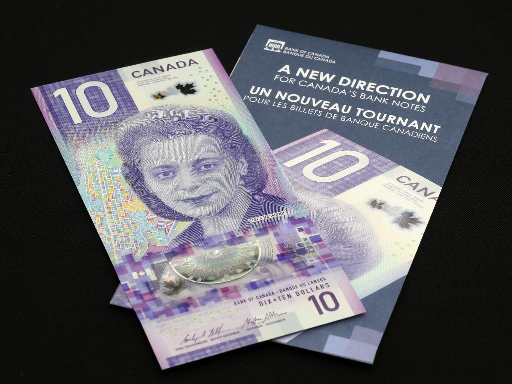 Canada's new $10 banknote, featuring civil rights activist Viola Desmond, won
