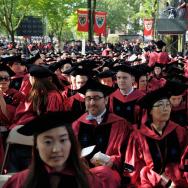 General atmosphere at 2013 Harvard University 362nd Commencement  Exercises at Harvard University on May 30, 2013 in Cambridge, Massachusetts.