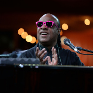 Stevie Wonder performs onstage at the City Of Hope Spirit Of Life Gala Honoring Rob Light on Sept. 19, 2013 in Playa Vista.