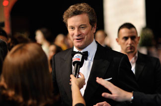 Actor Colin Firth attends the Opening Night Gala of 'The King's Speech' during day one of the 7th Annual Dubai International Film Festival held at the Madinat Jumeriah Complex on December 12, 2010 in Dubai, United Arab Emirates.