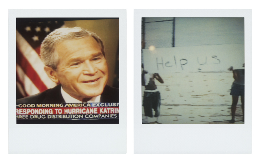 Bush Smiling, Help Us from the series Close to Home, 2005