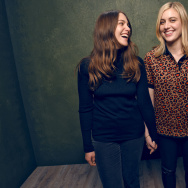"Actresses Lola Kirke (L) and Greta Gerwig from ""Mistress America"" pose for a portrait at the Village at the Lift Presented by McDonald's McCafe during the 2015 Sundance Film Festival on January 24, 2015 in Park City, Utah"