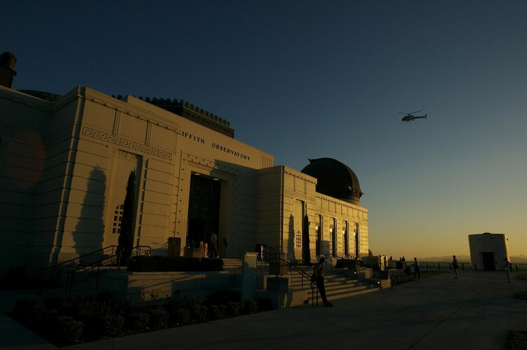A picture of Griffith Observatory.