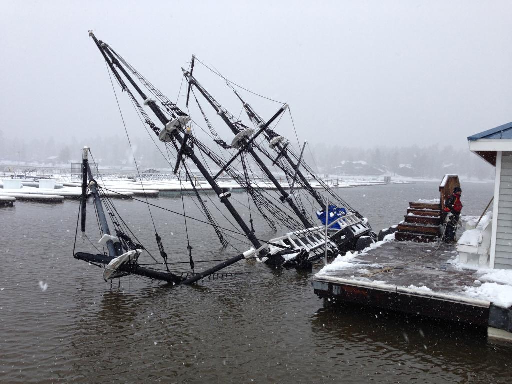 Big Bear Pirate Ship Tour