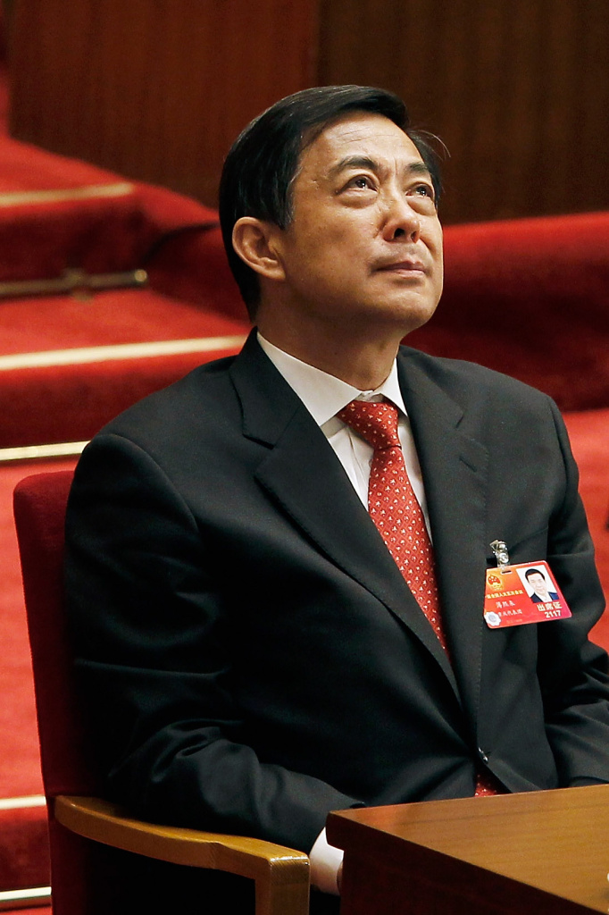 China's former Chongqing Municipality Communist Party Secretary Bo Xilai attends the closing session of the National Peoples Congress.