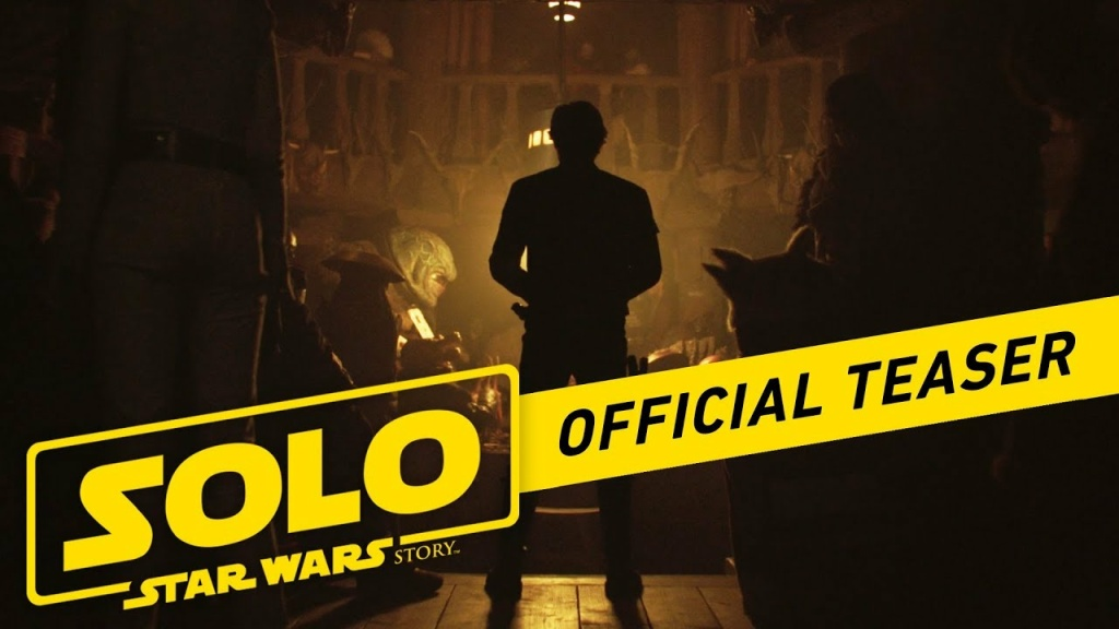 Watch the new teaser trailer for Solo: A Star Wars Story out in theaters May 25.