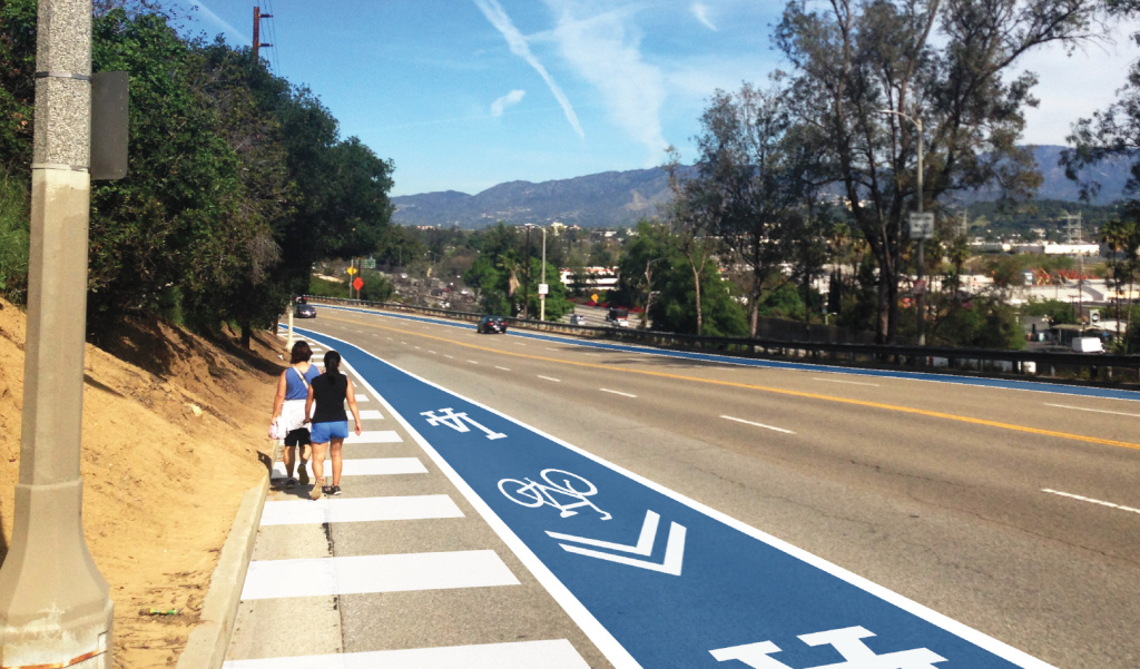 Architect Daveed Kapoor proposes improved walking and biking lanes to reach Dodger Stadium