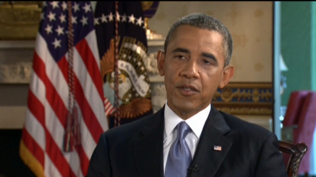 President Obama addressed the slow movement on immigration reform in a televised Telemundo interview this week.