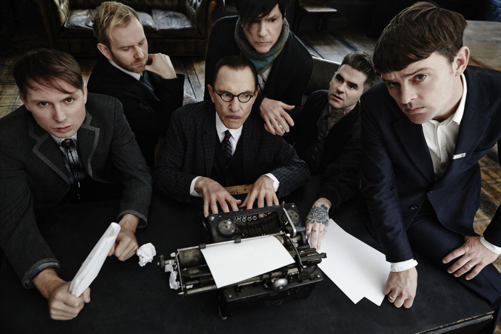The band FFS, a collaboration between Franz Ferdinand and Sparks.