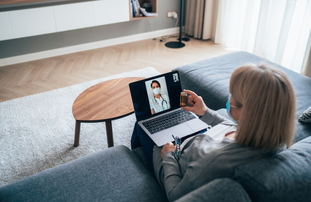 Virtual medical appointments are more common since the coronavirus pandemic began. But without physical exams, doctors may miss certain diagnoses and miss out on building relationships with patients.