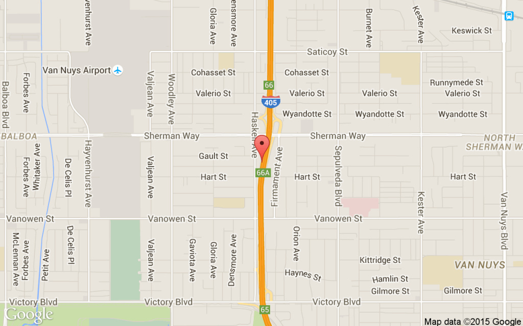 A fatal collision on the 405 near Sherman Way forced the closure of all northbound lanes.