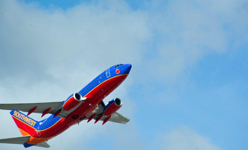 File photo: A Southwest Airlines jet takes off from Fort Lauderdale-Hollywood International Airport February 21, 2013 in Ft. Lauderdale, Florida.