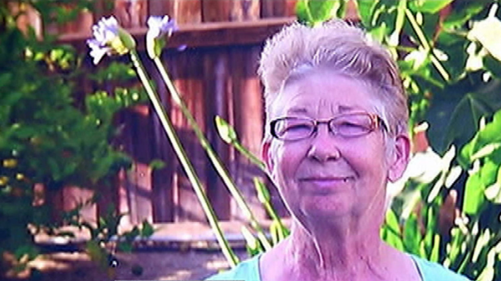 Missing 69-year-old Dana Point woman Cheryl Jean Moser was found in compton Thursday morning, May 30, 2013.